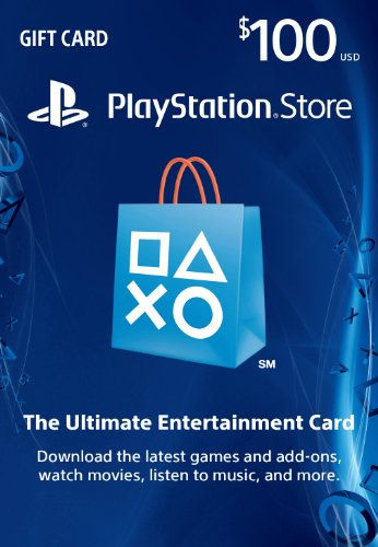 : $100 PlayStation Store Gift Card - PS3/PS4/PS Vita [Digital Code]