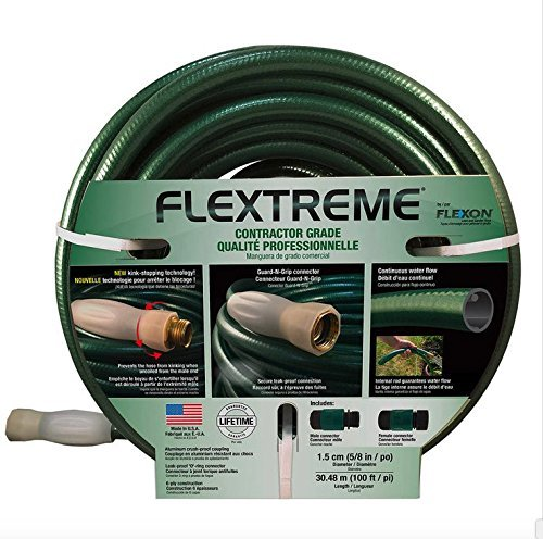Flexon Flextreme Contractor Grade Lawn and Garden House 30.48m/100ft - 1.5cm/5/8in by Flexon