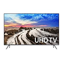 "Samsung UN65MU8000 65"" 4K Ultra HD Smart LED TV (2017 Model)"