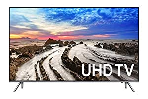 Samsung Electronics UN55MU8000FXZA 55-Inch 4K Ultra HD Smart LED TV (2017 Model)