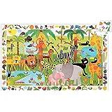 Djeco Dj07171 Giant Puzzle Animal Parade Puzzle Jigsaw