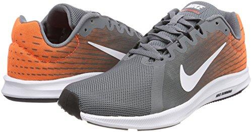 Running 003 Grey hyper Scarpe Nike Uomo white Crimson 8 Grigio Grey cool Downshifter dark qORwtRza