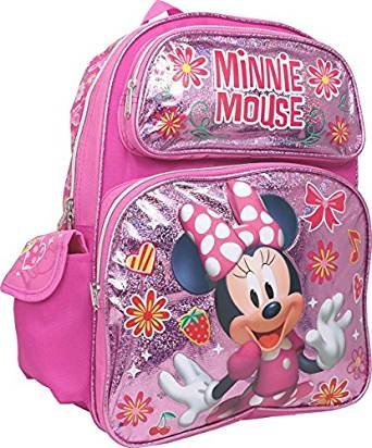 Minnie Mouse Large 16 inches Backpack