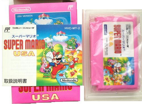 Super Mario USA (Brothers 2/Doki Doki Panic), Famicom (Japanese NES Import) by Nintendo