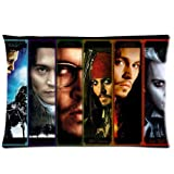 """Johnny Depp One Side Printed for 20""""X30""""Pillow Case Cover"""