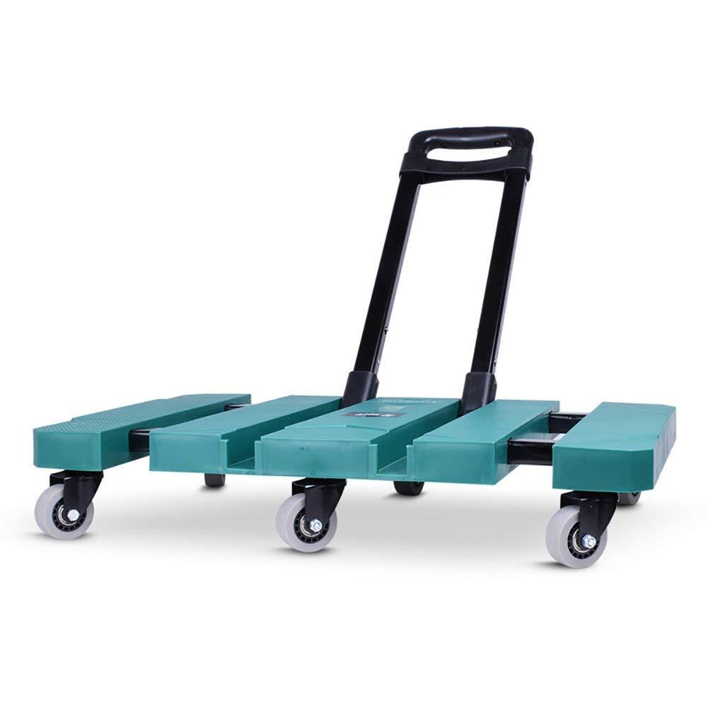 969312933df9 Color : Green IYHFXVCBD Shopping Cart ZGL Trolley Multifunction ...