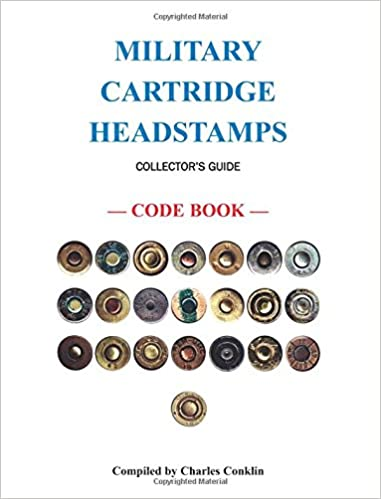 amazon com military cartridge headstamps collectors guide