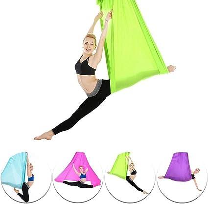 GXMZL Hamaca de Yoga aérea - Accesorio de Entrenamiento de Fitness ...