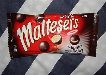 bf72bbc8734 Amazon.com : Maltesers Milk Chocolate 37g X 4 Bag (Dark Chocolate ...