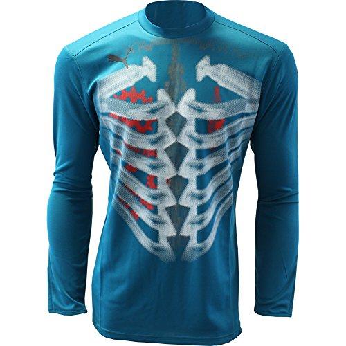 (PUMA Mens V3.08 TRICKS RETRO Goalkeeper Shirt Long Sleeve For Soccer)