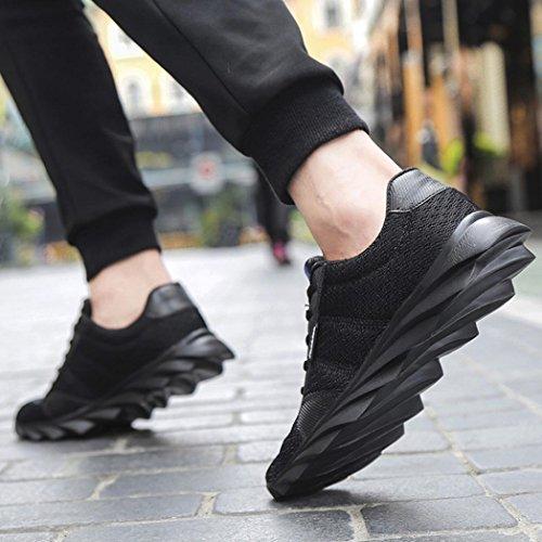 Sneaker Uomo Nero Moda Casual Men 41 Estate Scarpe UOMOGO Asia Sneaker Scarpe Primavera 571qa0x1w