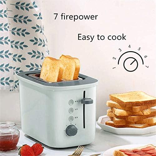 JYDQB Toaster 2-Scheiben Compact gebürstetem Edelstahl Toaster mit Warmer Rack warmen Touch One Touch Schnell Toasts und Herausnehmbare Krümelschublade
