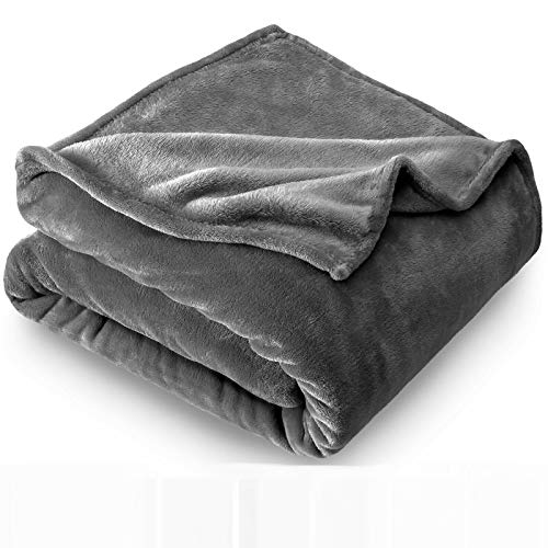 Townhouse 2 Pack Super Soft Warm Fuzzy Velvet Plush Throw Lightweight Cozy Couch Blankets -