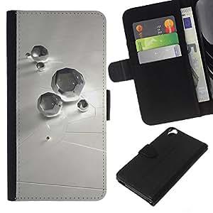 All Phone Most Case / Oferta Especial Cáscara Funda de cuero Monedero Cubierta de proteccion Caso / Wallet Case for HTC Desire 820 // Abstract Diamond