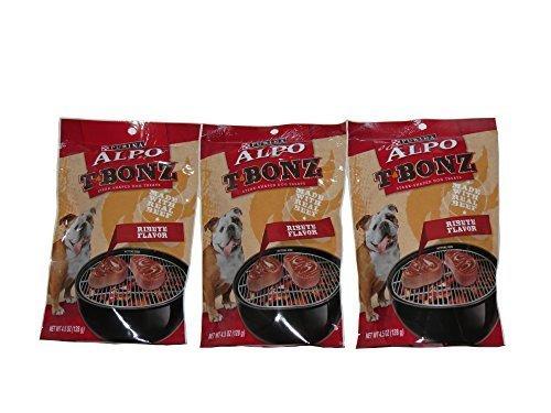 (Purina Alpo T Bonz Ribeye Flavor 4.5 Oz (3 Pack))