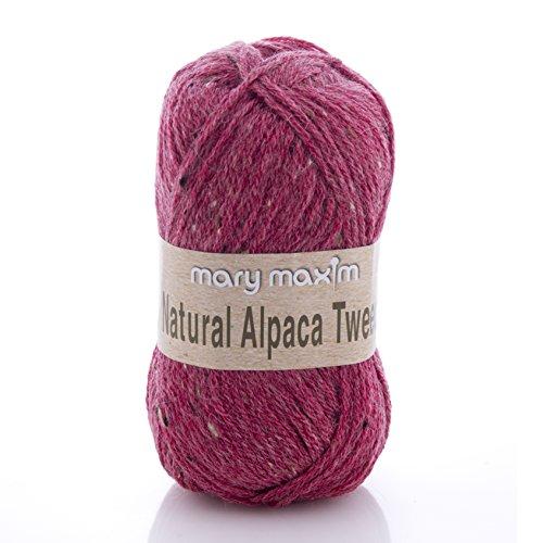 (Mary Maxim Y083-302 Natural Alpaca Tweed Yarn (Wild)