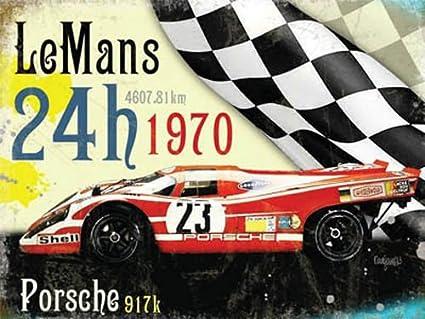 Le De hombre 24h 1970 ganador, Porsche en rojo Alemán carreras coche motor, para