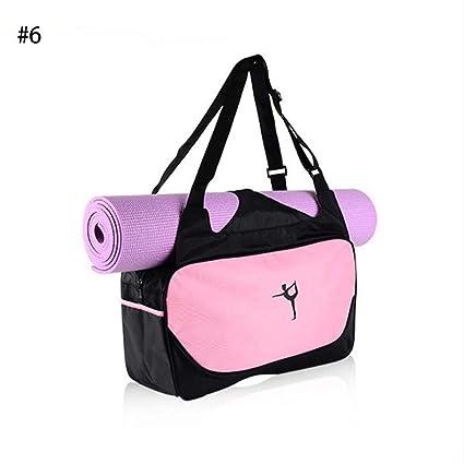Longzhuo - Mochila Multifuncional para Yoga, Impermeable, Bolsa de Deporte y Gimnasio, Bolsa de Deporte