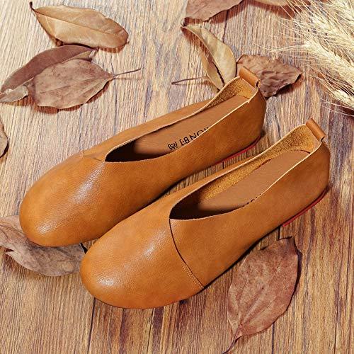 Jaune 42 Noir Eu Qiusa Taille Shoes couleur YWxnWHA0
