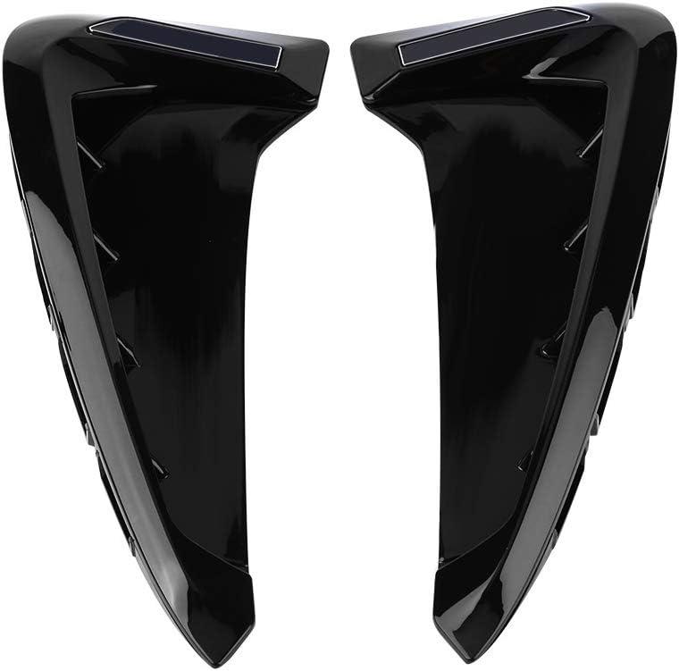 Gorgeri 1 Paar Auto Kotfl/ügel vorne Seite Air Vent Cover Trim f/ür X5 F15 2014-2017 schwarz X5