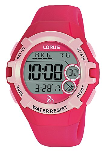 Lorus Reloj Digital para Unisex de Cuarzo con Correa en Silicona R2397LX9