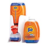 Tide Clean Kit EZ Press Precision Dispensing System Starter Kit for Laundry Detergent - INCLUDES 1 Dispenser, 1 Measuring Cup, 2 Refill Bottles Tide Original Scent HE Turbo Clean Liquid - 50 Oz Ea