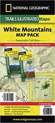 White Mountain National Forest Map Pack Bundle