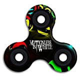 Motionless In White Gothic Metal Band Gyro Spinner Hands Fingertip Bearing Focus Tri EDC Fidget Hand Spinner Finger Toys Fast Bearing ADHD Focus Anxiety Relief