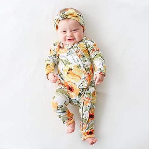 cinnamou Pijamas Bebe NiñA Invierno, Bodysuit Overol Monos ...