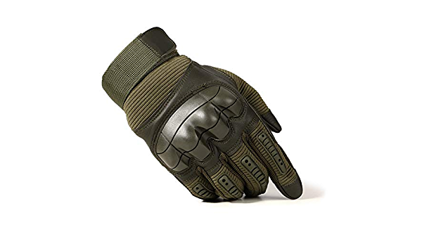 Touch Screen Hard Knuckle Tactical Gloves Army Military Combat Airsoft Outdoor C