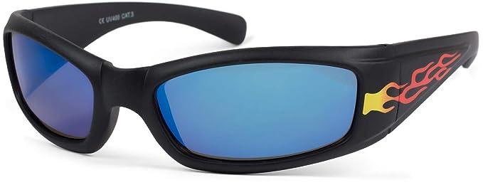 styleBREAKER Gafas de sol deportivas infantiles con ...