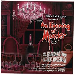 An Evening of Murder Game: A Feast to Die For Party Game