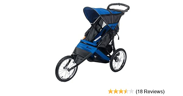 Amazon.com: Instep Run Around LTD Jogging Stroller (Blue ...