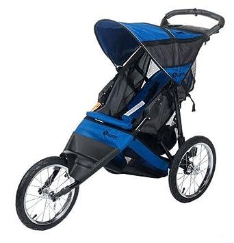 InStep Spann Run Around LTD Joggen Kinderwagen (schwarz/blau ...