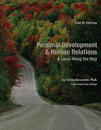 Personal Development & Human Relations: A Lamp Along The Way