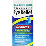 Bausch + Lomb Advanced Eye Relief Instant Redness Reliever, 0.5 Ounce ( Packaging May Vary )