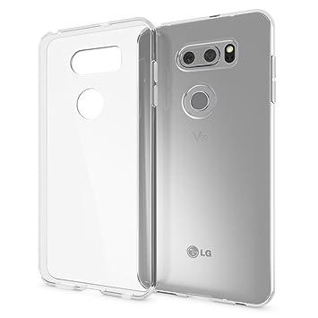 NALIA Funda Carcasa Compatible con LG V30, Protectora Movil ...