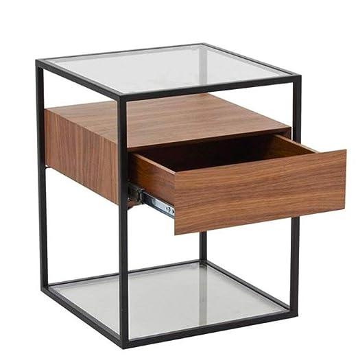 LXJ Mesa de café, computadora portátil del Juego Mesa Moderna de ...