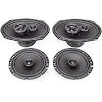 2005-2008 Pontiac G6 Complete Premium Factory Replacement Speaker Package by Skar Audio