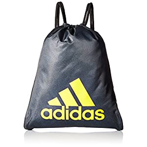adidas Burst Sack pack, One Size, Onix Grip/Black/Equatorial Yellow