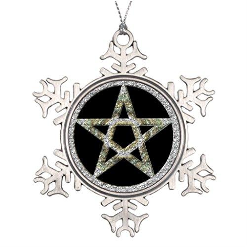 Hipporal Tree Branch Decoration Pentagram Pentagram Pentacle Unisex Wicca Tree Face Decorations