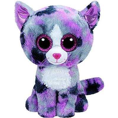 Ty Lindi Cat Plush, Pink, Regular: Toys & Games