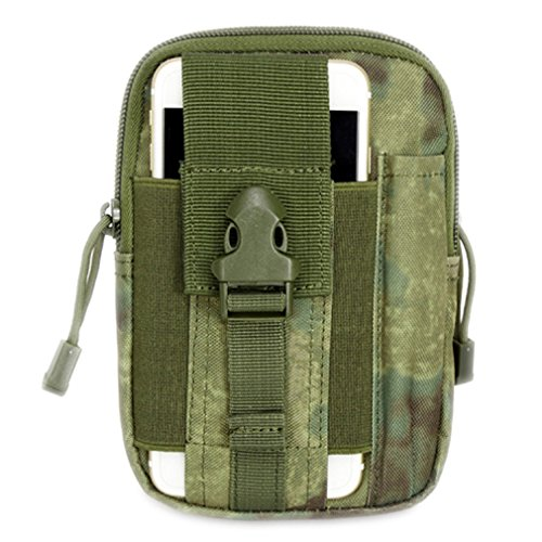 DWEFVS Sport Outdoor Climbing Unisex Holster Military Waist Hip Bag Small Pocket Waist Belt Bag FG by DWEFVS