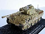 Deagostini 1:72 Diecast Model Tank - V Panther 1.Ss Tank Normandie France 1944 #13
