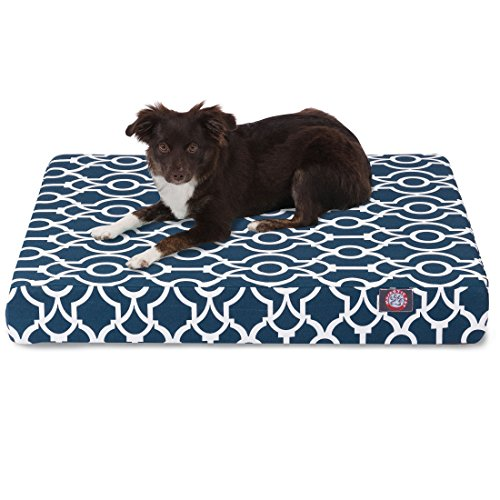 hot sale Majestic Pet Products Majestic Pet Athens Small Orthopedic Memory Foam Rectangle Dog Bed Brown Large