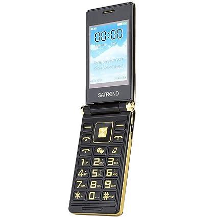 Kafuty Flip Teléfono móvil Pantalla táctil de 3.0 Pulgadas ...
