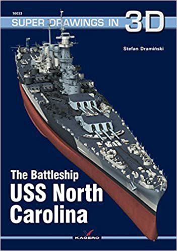 Ebooks à télécharger gratuitement pour mobile The Battleship USS North Carolina (Super Drawings in 3D) by Stefan Drami ski (2015-03-31) PDF iBook B019TMDPU6