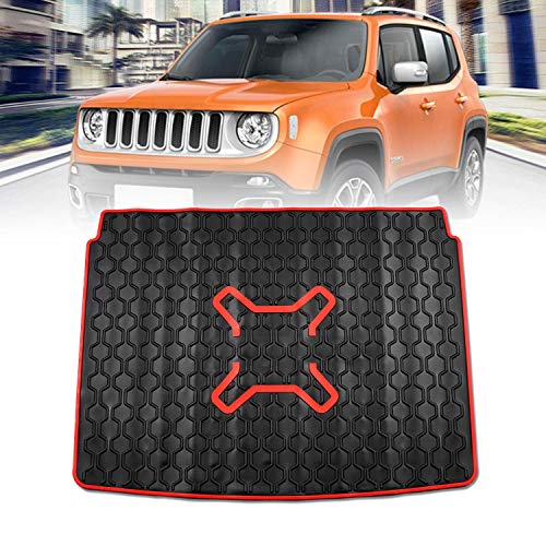 (Premis Cargo Liners Trunk Mat Car Rear Boot Liner for Jeep Renegade 2015 2016)