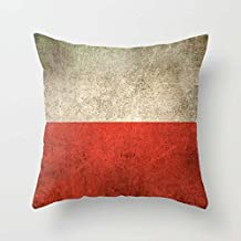 Pillow Shams Of Flag For Boys Bar Study Room Him Home Theater Birthday 18 X 18 Inches / 45 By 45 Cm(twice Sides)