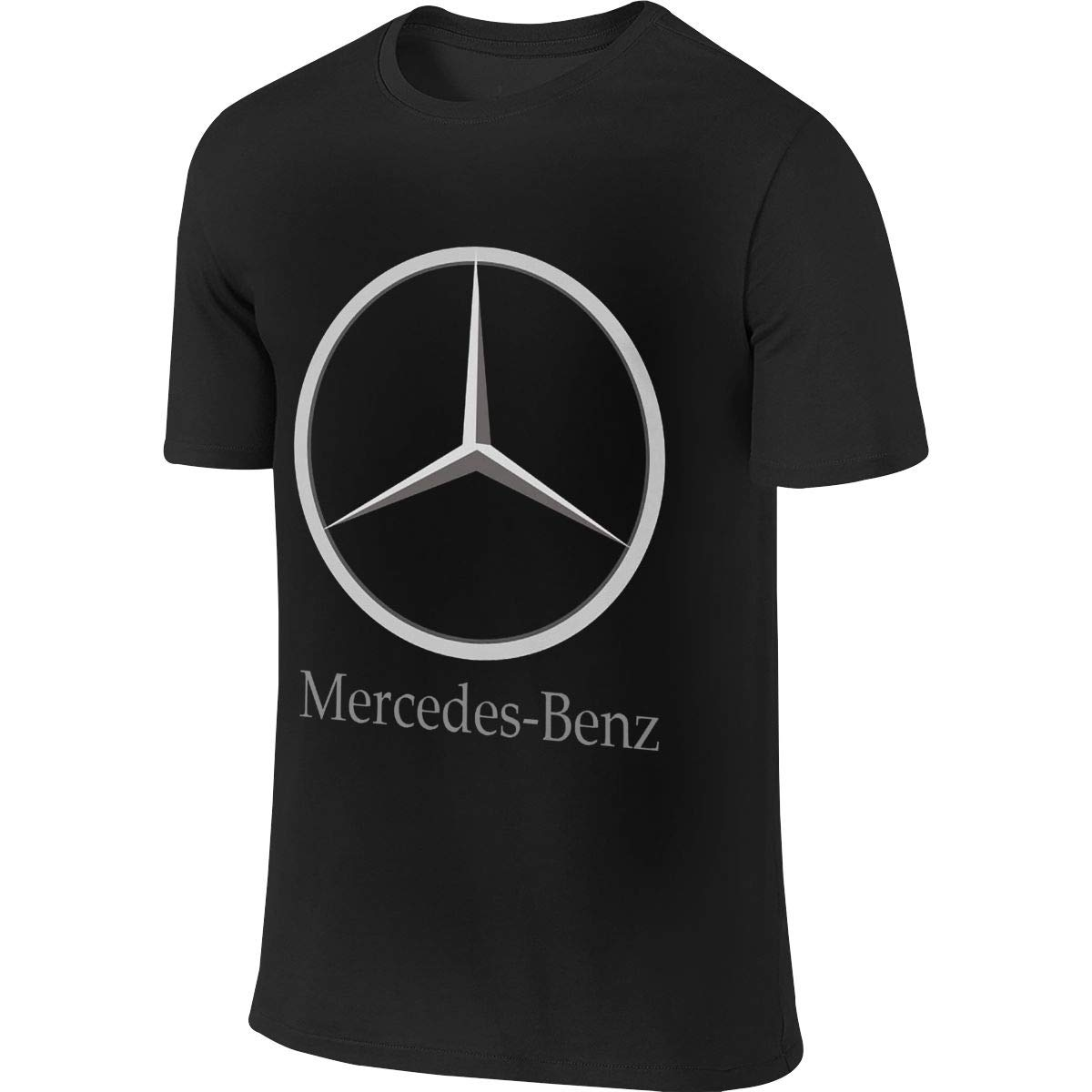 BYSKA Man Personalized Funny Tops Mercedes Benz Logo Tshirt